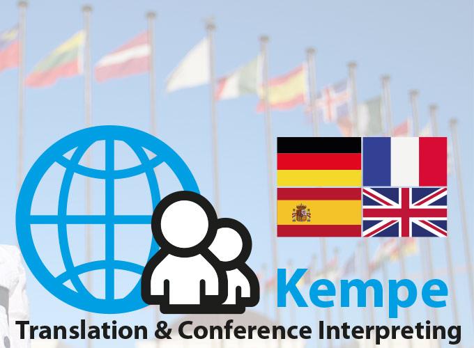 Kempe-Dolmetscher / Übersetzer