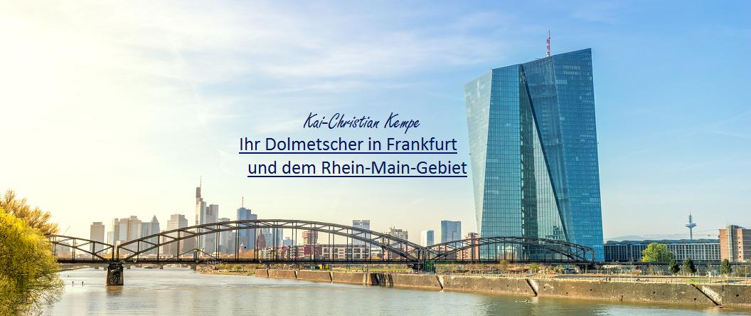Dolmetscher in Frankfurt und Rhein-Main-Gebiet